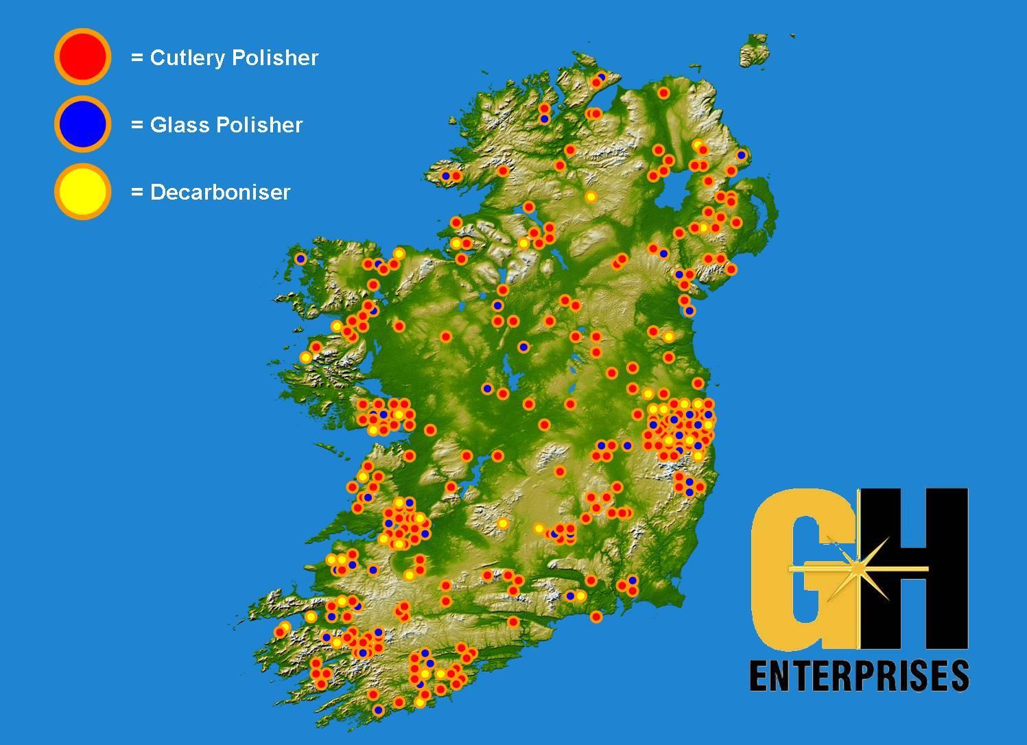 map clients GH Enterprises