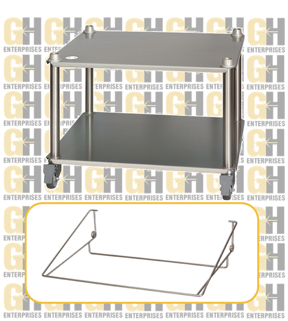 Mobile Stainless Steel Stand + tray support